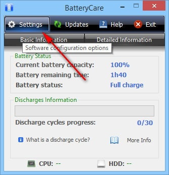 how to design hdd cpu on batterycare