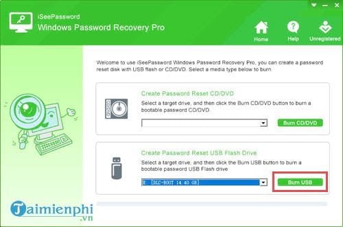 reset windows password usb 6