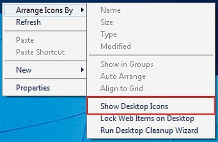 The computer does not display the taskbar