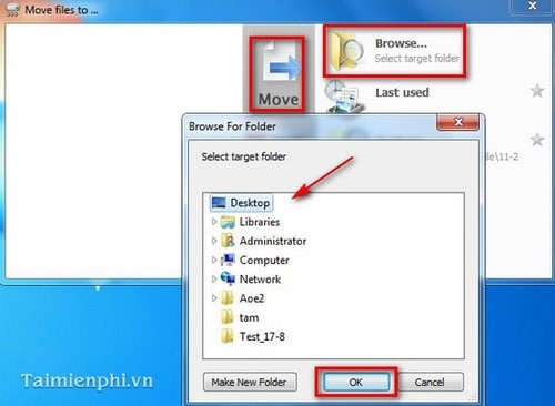 Copy the file quickly using TeraCopy state