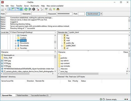 How to save filezilla state website