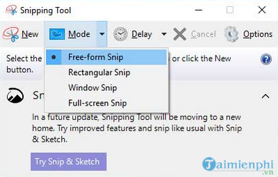 What is the snipping tool 4?