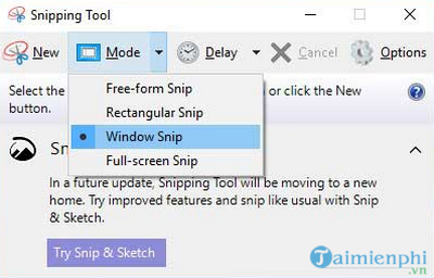 What is the snipping tool 6?