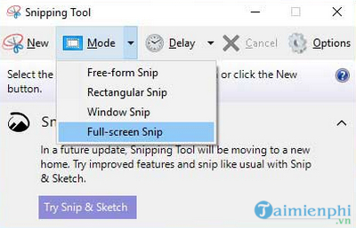 What is the snipping tool 7?