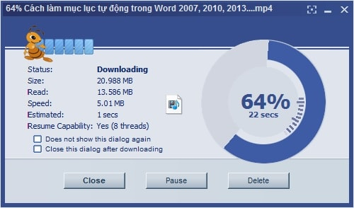 So do the two components download download ant download manager and internet download manager