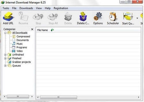 compared between the two versions, the download manager and the Internet download manager