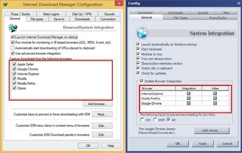 compared between ant download manager and internet download manager