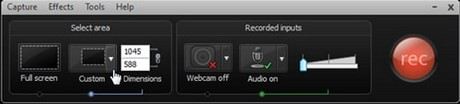 using camtasia studio 7 with pictures and videos