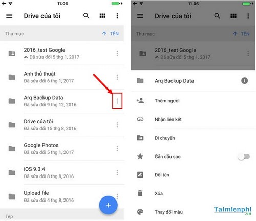 why save video on google drive on iphone