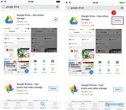 Use Google Drive on iPhone