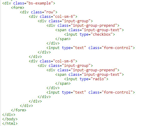 Using input group in bootstrap 3