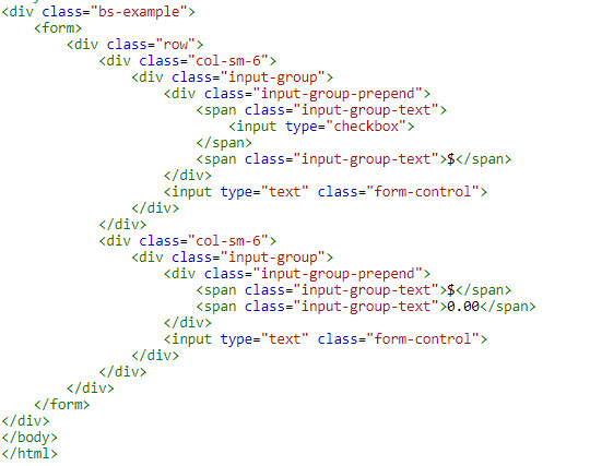 Use input group in bootstrap 7
