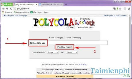how to use a lot of search tools on the web at the same time