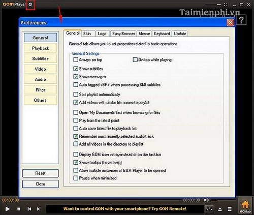 Use the media player software to watch movies and listen to music