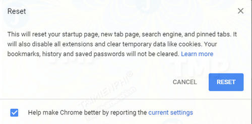 fix google chrome without asking 5