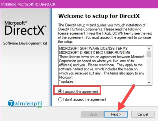 Fixing errors cannot be observed due to directx 3