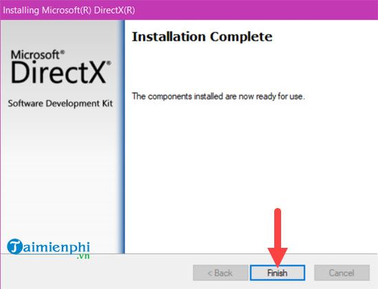 fix the problem can not be obs obsession due to lack of directx 6
