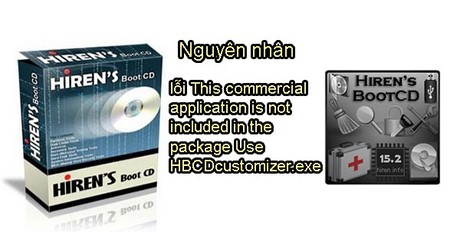 Fixing this commercial application is not included in the package us