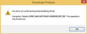 Fix the timeout when downloading the driver in easy driver