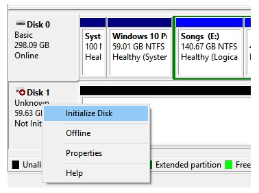 Fix unknown not initialized on Windows 10 2
