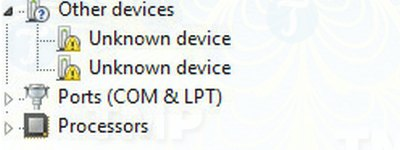 Fixing USB device not recognized without flashing 7