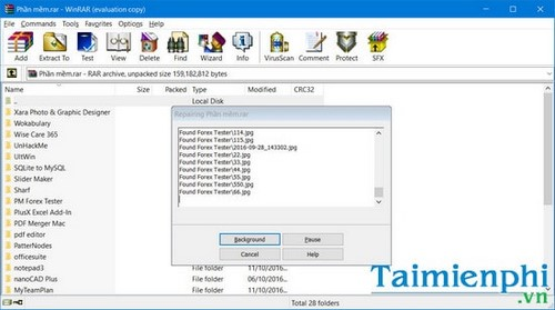 Fix Winrar unexpected end of archive