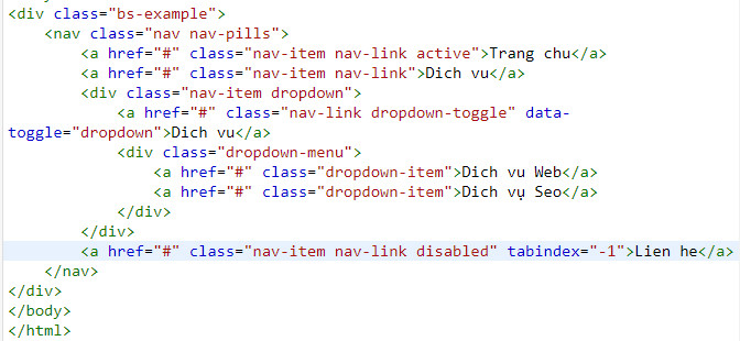 tab and pill in bootstrap 21