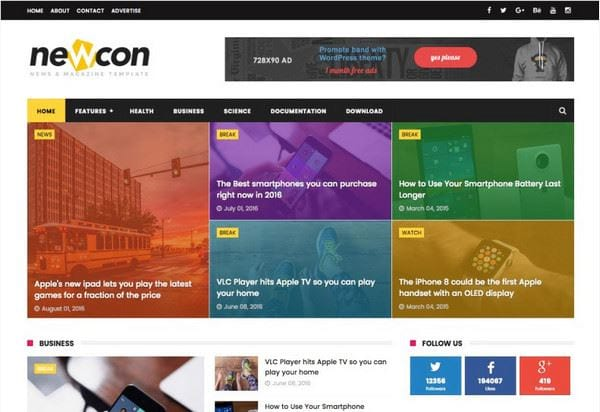 download responsive blogspot template with free template 2
