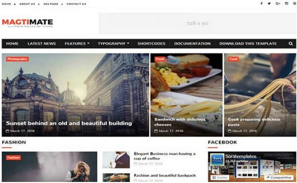 download blogspot template for free news 5