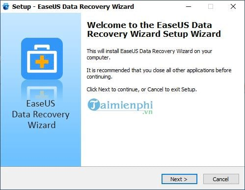 Download and install EaseUS Data Recovery Wizard on PC 4