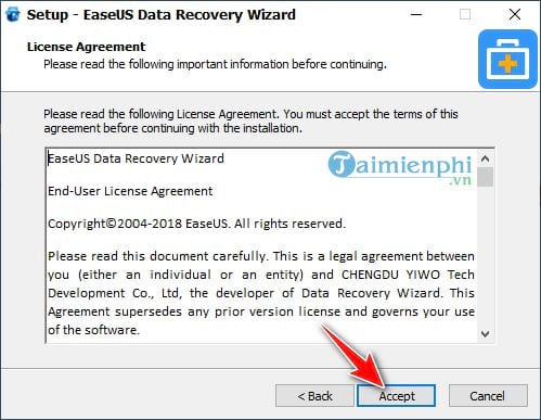 Download and install EaseUS Data Recovery Wizard on PC 5