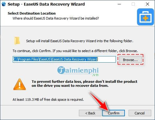 Download and install EaseUS Data Recovery Wizard on PC 6