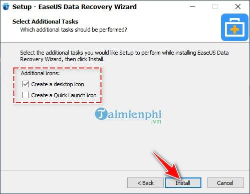 Download and install EaseUS Data Recovery Wizard on PC 8