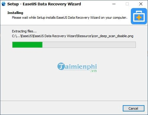 Download and install EaseUS Data Recovery Wizard on PC 10