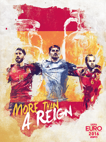 guide to the football poster for Euro 2016
