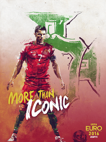 Download the 2016 Euro 2016 soccer poster
