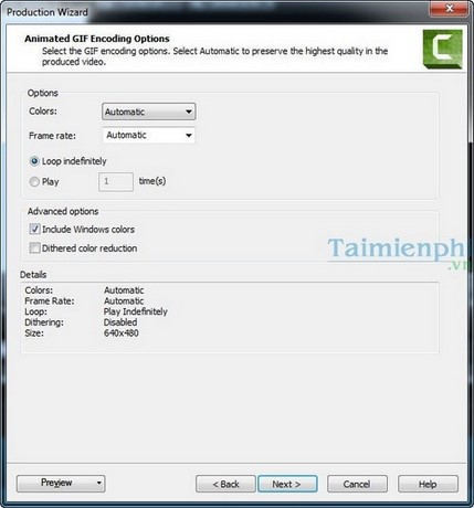 Create awesome gif from Camtasia videos