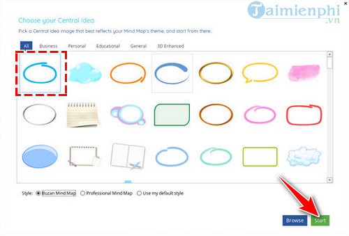 I was thinking of following an imindmap 10