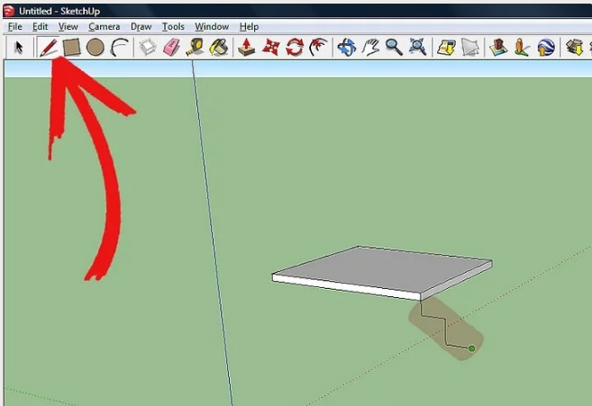 I said that in sketchup 2