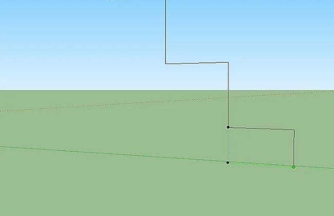 I said that in sketchup 4