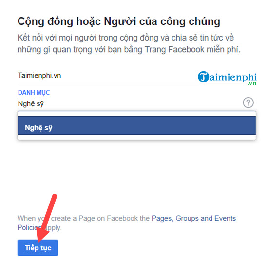 Create facebook fanpage on your phone