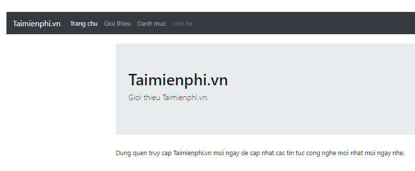 I created the navigation bar in bootstrap 16