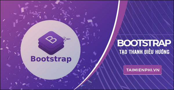 I create the navigation bar in bootstrap or learn bootstrap