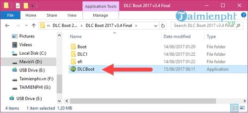 How to create a usb uefi boot with dlc boot 3