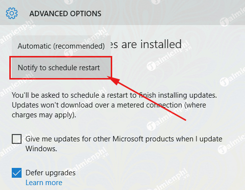 how to automatically update from windows 10 member