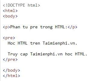 the text is in html 11