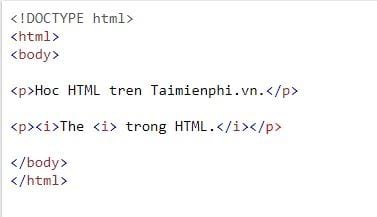 The problem is still in html 5