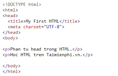 the heading in html 7