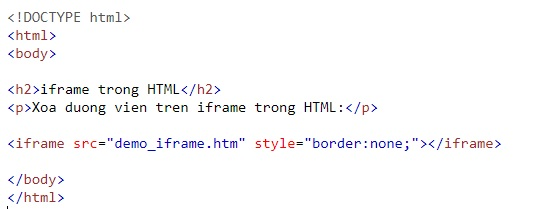 the iframe in html 8