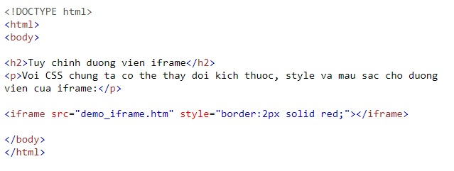 the iframe in html 10